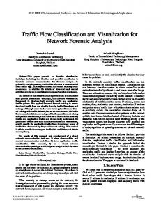 Traffic Flow Classification and Visualization for Network ... - IEEE Xplore