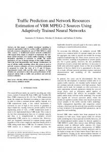 Traffic Prediction and Network Resources ... - Semantic Scholar