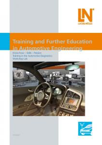 Training and Further Education in Automotive ... - techno volt