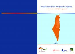 training provision and employment in palestine - Palestine Economic ...