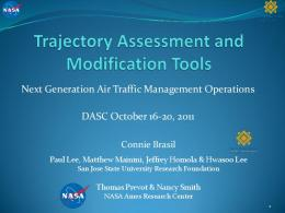 Trajectory Assessment and Modification Tools - IEEE Xplore