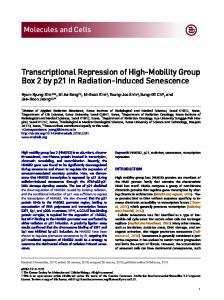Transcriptional Repression of High-Mobility Group ...