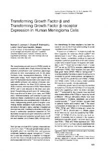 Transforming growth factor-beta and transforming growth factor beta ...