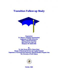 Transition Followup Study