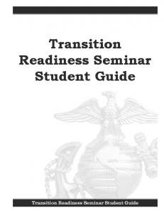 Transition Readiness Seminar Student Guide Transition Readiness ...