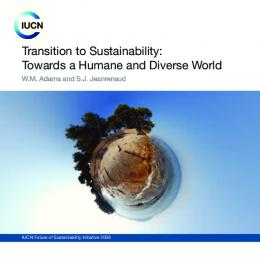 Transition to Sustainability - Open Research Exeter - University of Exeter