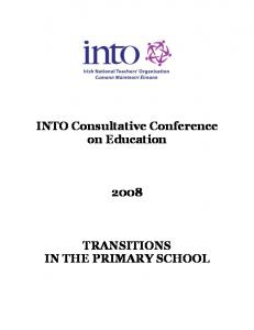 Transitions in the Primary School