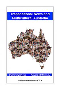 Transnational News and Multicultural Australia - Deakin University