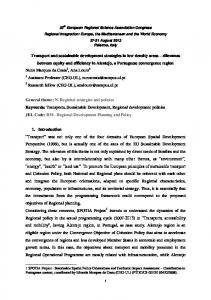 Transport and sustainable development strategies in ...
