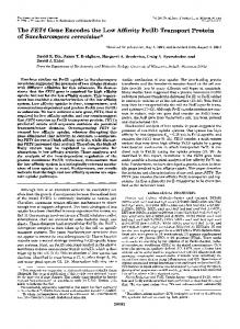 Transport Protein - The Journal of Biological Chemistry