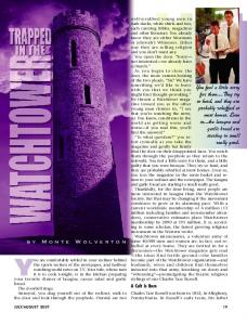 Trapped in the Watchtower - Plain Truth Ministries