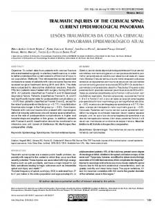 traumatic injuries of the cervical spine