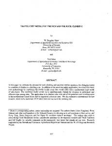 TRAVEL COST MODELS OF THE DEMAND FOR ...