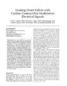 Treating Heart Failure with Cardiac Contractility ... - Impulse Dynamics