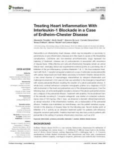 Treating Heart Inflammation With Interleukin-1 ...