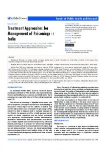 Treatment Approaches for Management of ... - JSciMed Central