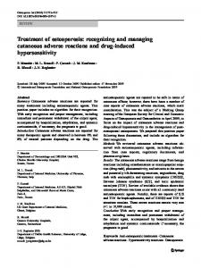 Treatment of osteoporosis: recognizing and managing ... - CiteSeerX