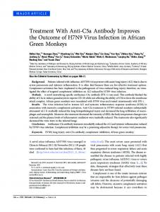Treatment With Anti-C5a Antibody Improves the ... - Oxford Journals