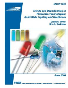 Trends and Opportunities in Photonics Technologies - Resolve a DOI