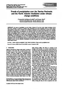 Trends of precipitation over the Iberian ... - Wiley Online Library