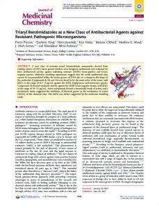 Triaryl Benzimidazoles as a New Class of ... - ACS Publications