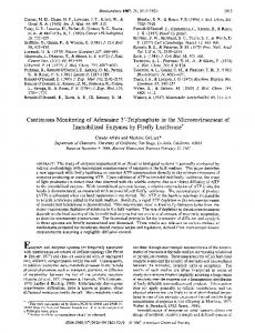 triphosphate in the microenvironment of immobilized enzymes by