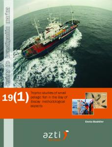 Trophic studies of small pelagic fish in the Bay of Biscay - AZTI