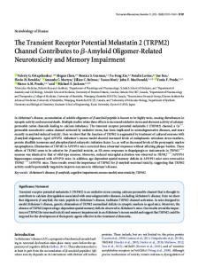 TRPM2 - Journal of Neuroscience