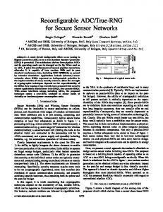 True-RNG for Secure Sensor ... - IEEE Xplore