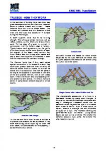 TRUSSES - HOW THEY WORK