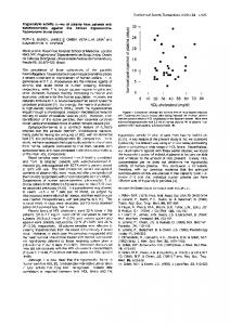 Trypanolytic activity in vivo of plasma from patients with ...