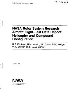 tU/ SA - NASA Technical Reports Server (NTRS)