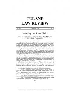 tulane law review - SSRN