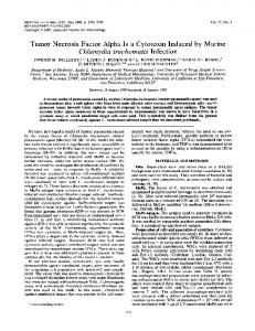 Tumor Necrosis Factor Alpha Is a Cytotoxin Induced by Murine ...