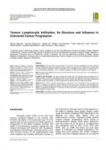 Tumour Lymphocytic Infiltration, Its Structure and Influence in ...