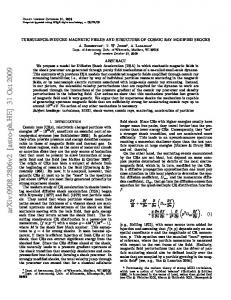 TURBULENCE-INDUCED MAGNETIC FIELDS AND STRUCTURE OF