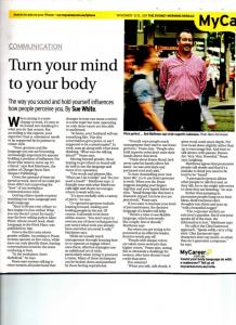Turn your mind to your body - Sue White