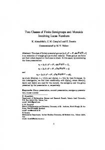 Two Classes of Finite Semigroups and Monoids Involving Lucas