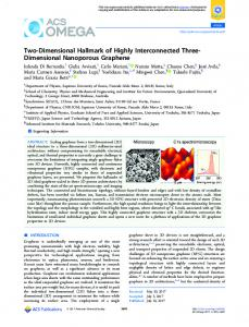 Two-Dimensional Hallmark of Highly ... - ACS Publications