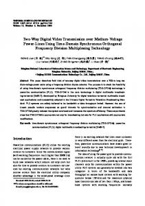 Two-Way Digital Video Transmission over Medium ... - IEEE Xplore