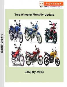 Two Wheeler Monthly Update January, 2014