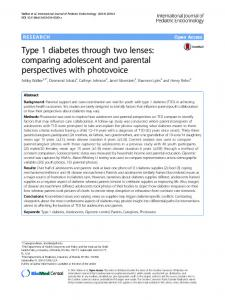 Type 1 diabetes through two lenses: comparing ... - Springer Link