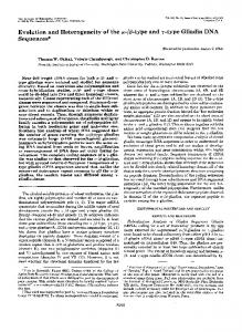 type and ?-type Gliadin DNA Sequences - The Journal of Biological ...