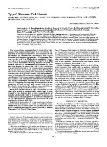 Type C Niemann-Pick Disease - The Journal of Biological Chemistry