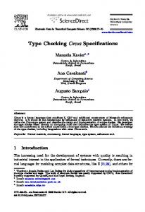 Type Checking Circus Specifications - CyberLeninka