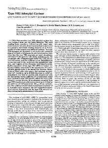 Type VI11 Adenylyl Cyclase - The Journal of Biological Chemistry