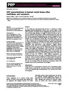 UGT concentrations in human rectal tissue after ... - Wiley Online Library
