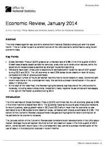 UK economic review, January 2014 - Office for National Statistics