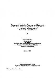 UK FINAL report 31 Jan 2008 - ILO