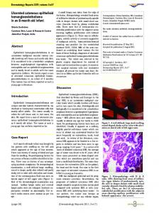 Ulcerated cutaneous epithelioid